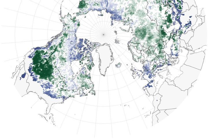 Habitat at Risk for Snow-Dependent Organisms - selected image
