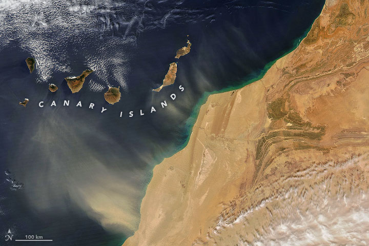 More Dust Blows Out from North Africa - related image preview