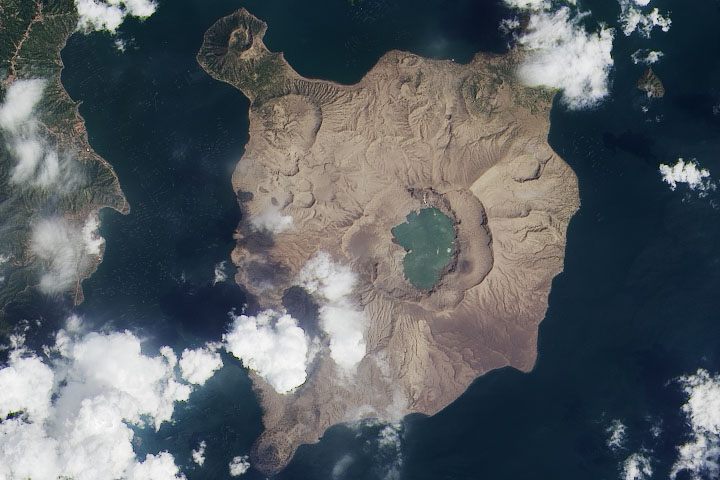 An Ash-Damaged Island in the Philippines - selected image