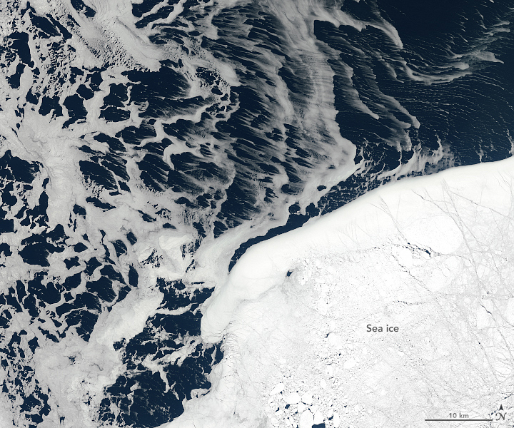 Drift Ice in the Sea of Okhotsk - related image preview