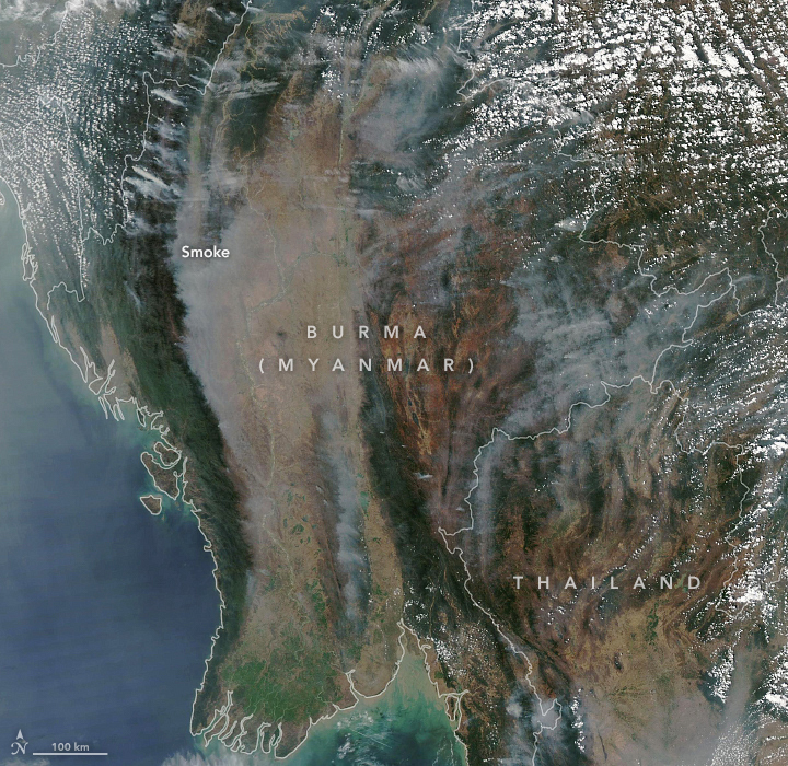 Smoke Blankets Thailand and Burma (Myanmar) - related image preview