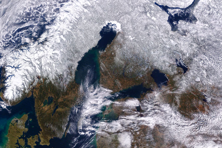 Snow-Parched Scandinavia - selected image