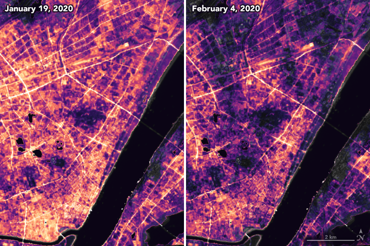 Nighttime Images Capture Change in China - related image preview