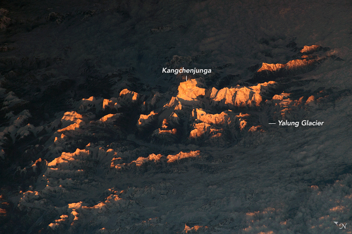 Sunlit Peaks in the Himalayas - related image preview