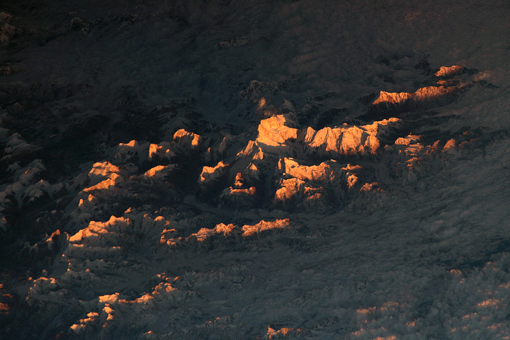Sunlit Peaks in the Himalayas - selected image