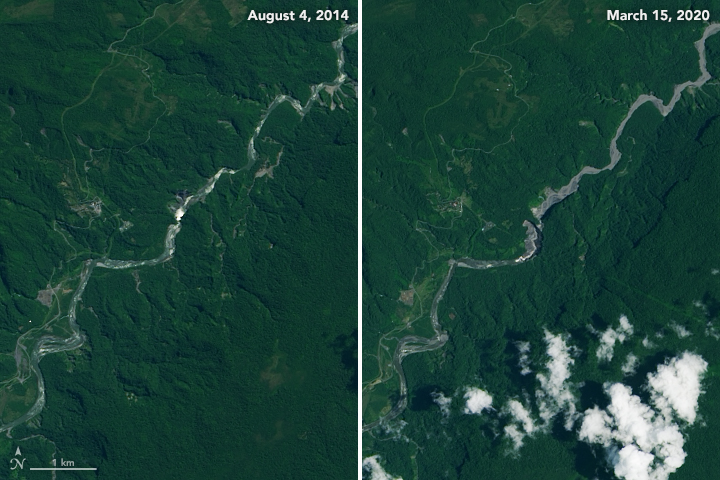 The Disappearance of Ecuador's Tallest Waterfall - related image preview