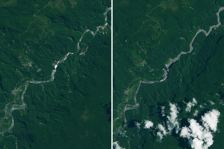 The Disappearance of Ecuador's Tallest Waterfall