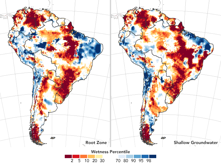 Measuring Drought in South America