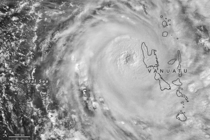 Tropical Cyclone Harold Blasts Vanuatu - related image preview