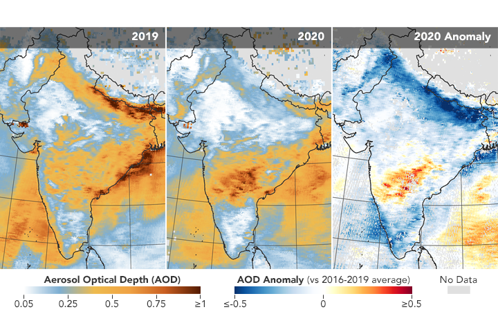 Airborne Particle Levels Plummet in Northern India - related image preview