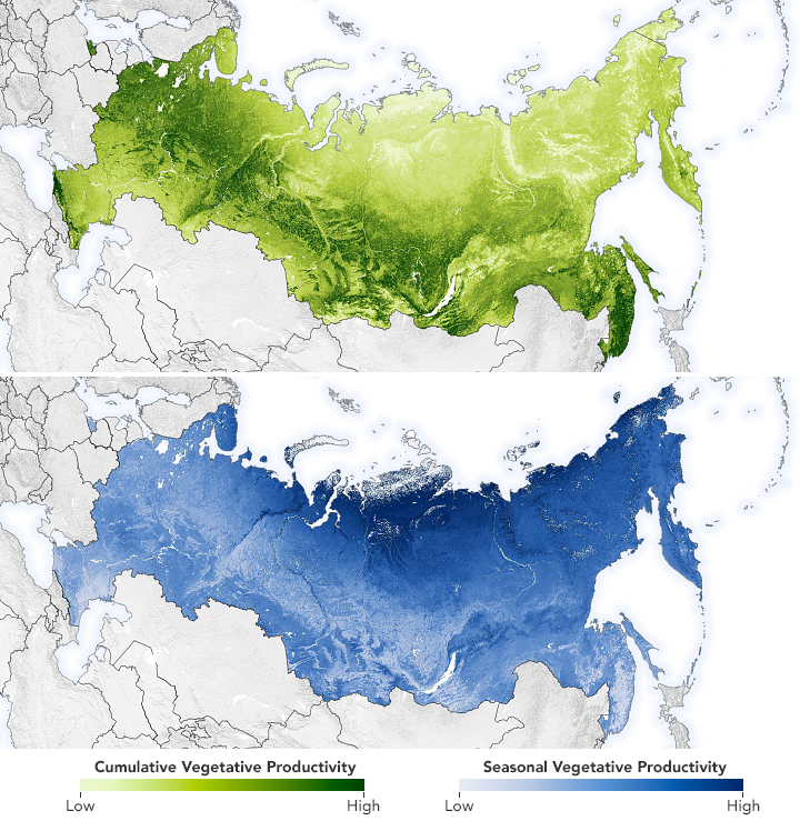 Mapping Moose Populations in Russia