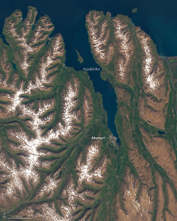 Iceland's Longest Fjord