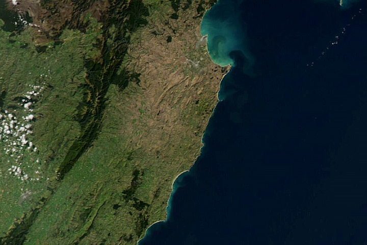 New Zealand Browned by Drought - selected image