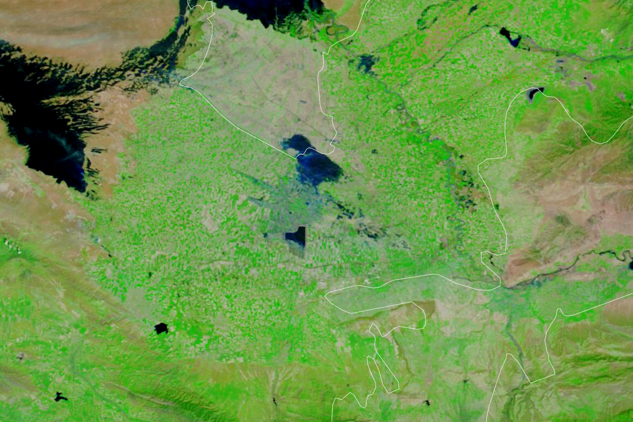 Dam Failure in Uzbekistan - related image preview