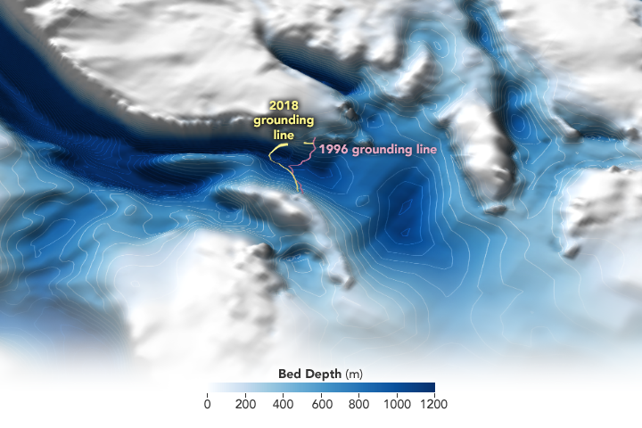Denman Glacier Losing Some of Its Footing - related image preview
