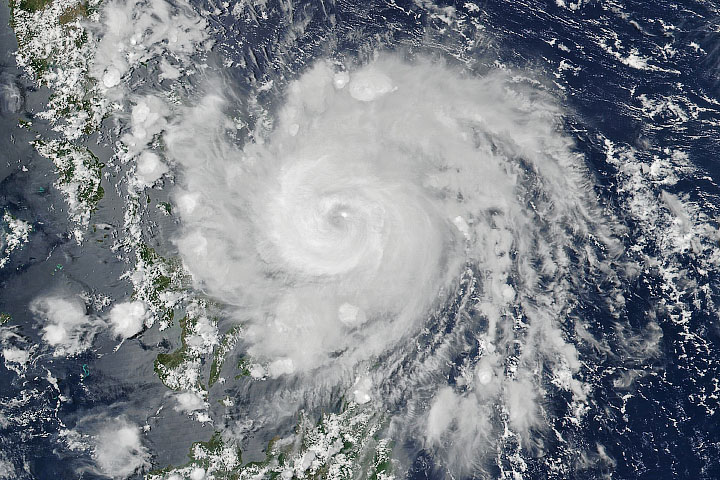 Vongfong Makes Landfall in the Philippines - selected image