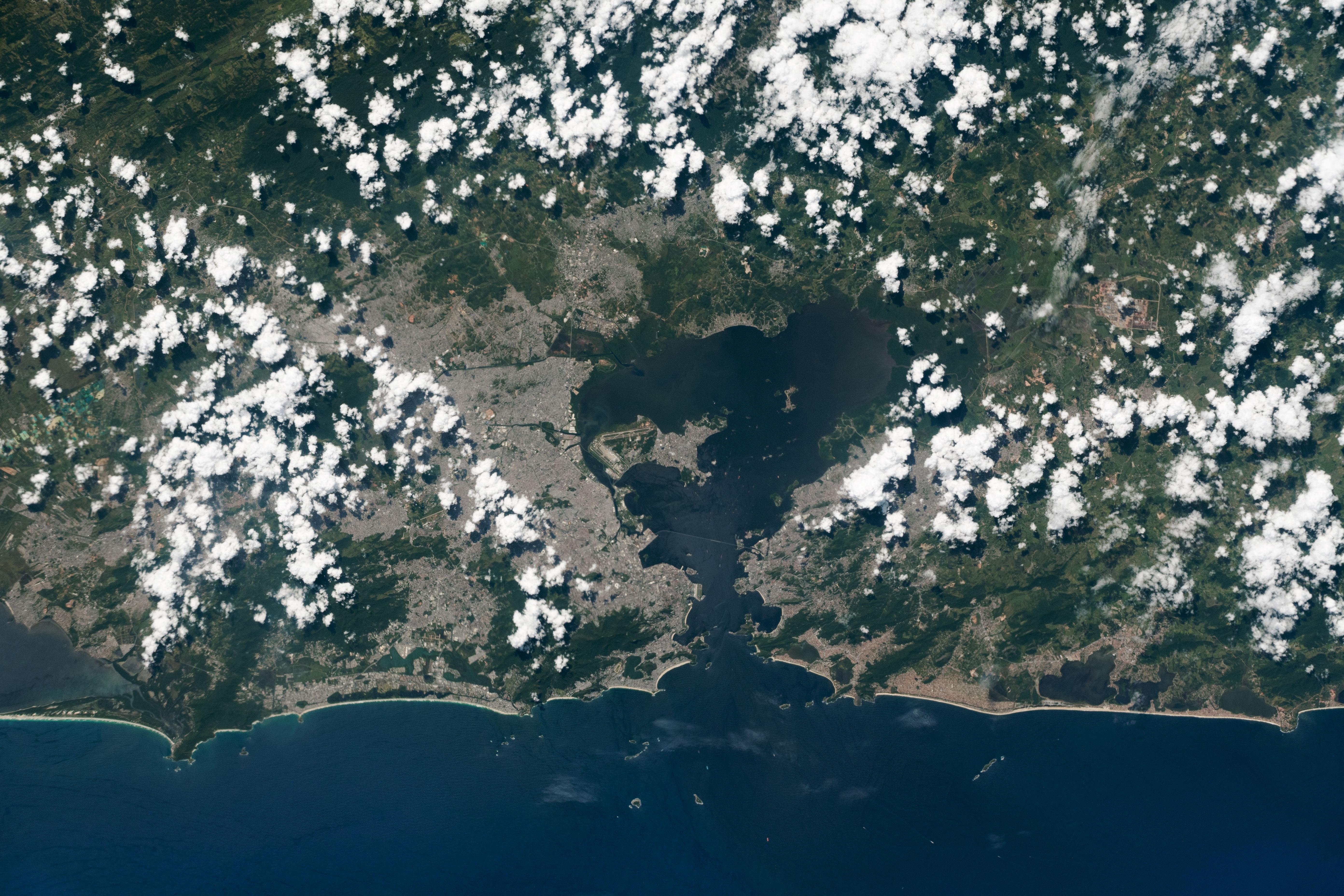 Popcorn Clouds over Rio de Janeiro - related image preview