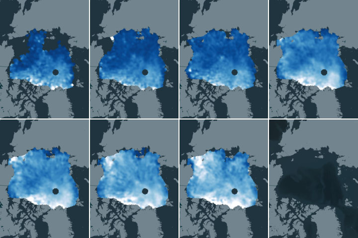 Mapping Snow on Arctic Sea Ice