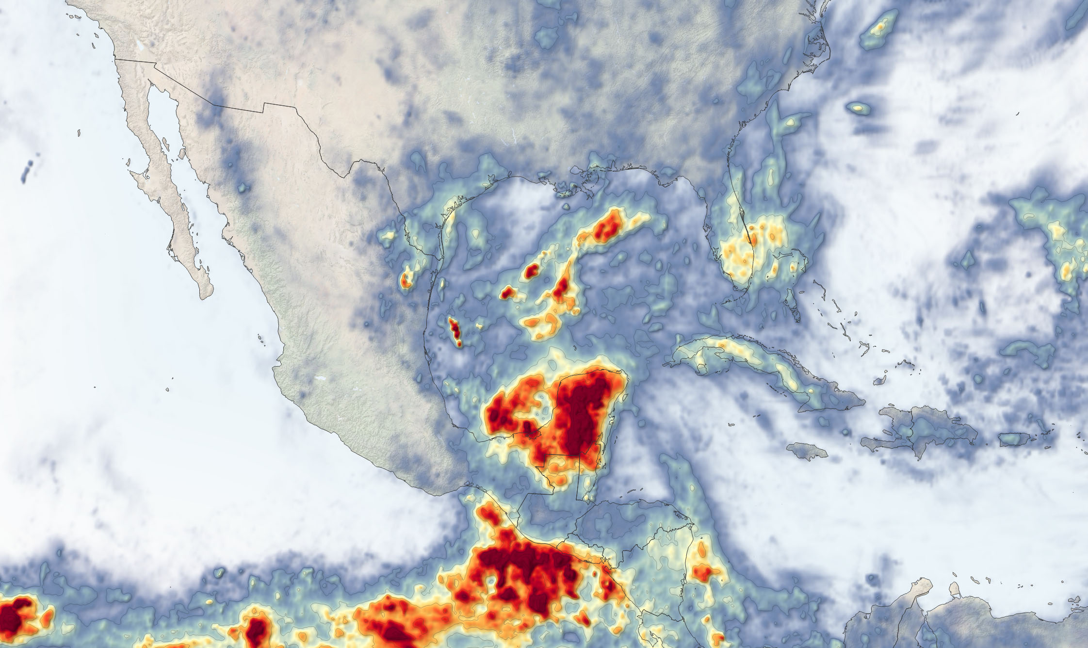 Cristobal Drenches Central America - related image preview