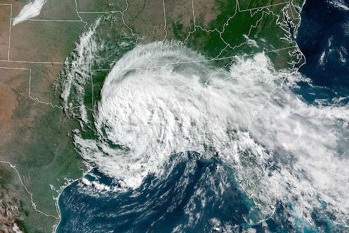 Tropical Depression Cristobal - selected image