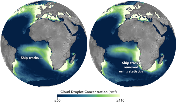 Cloud Changes in Busy Ship Corridors - related image preview