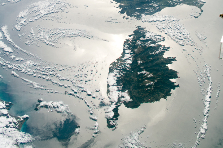 Mediterranean Sunglint - selected image