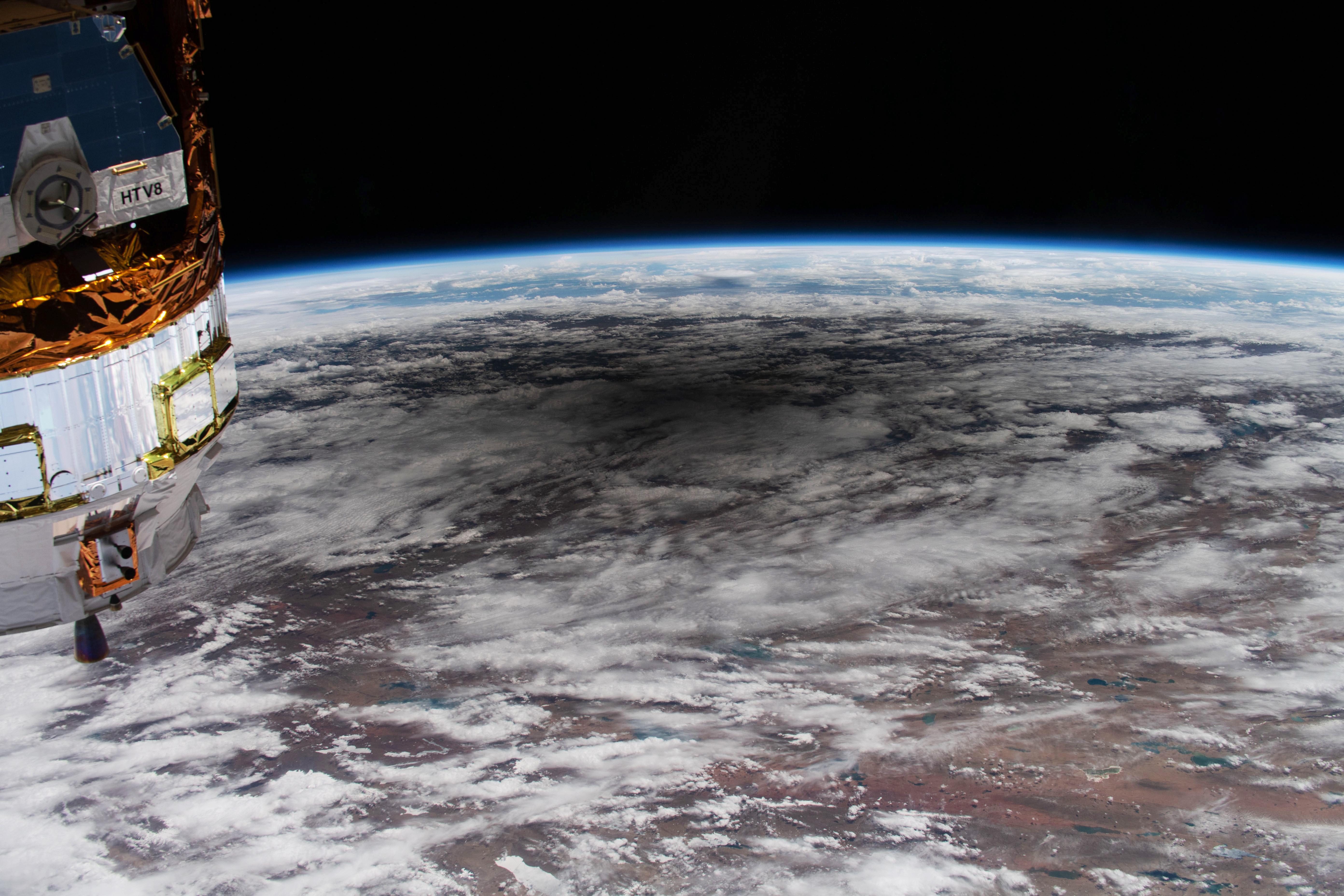 An Astronaut's View of an Annular Eclipse - related image preview