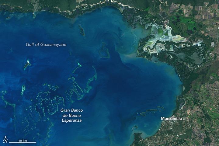 Cuba's Gulf of Guacanayabo