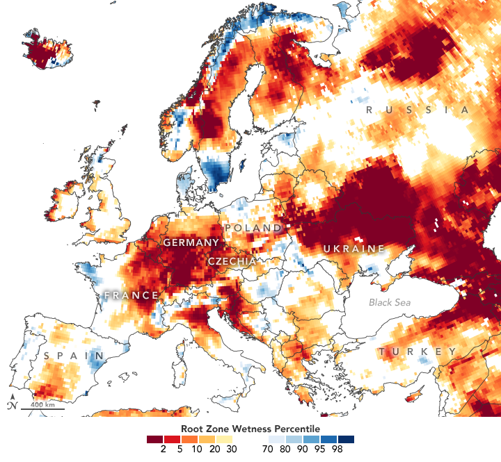 Signs of Drought in European Groundwater - related image preview