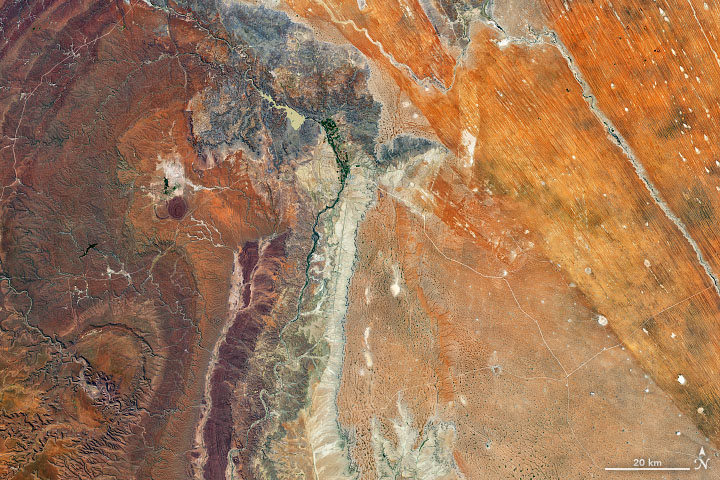 Contrasting Landscape in Namibia - related image preview