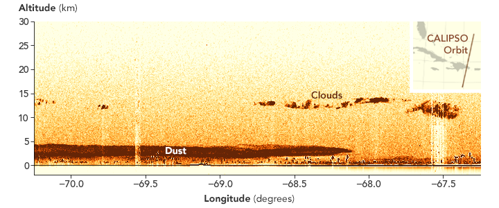 A Dust Plume to Remember - related image preview