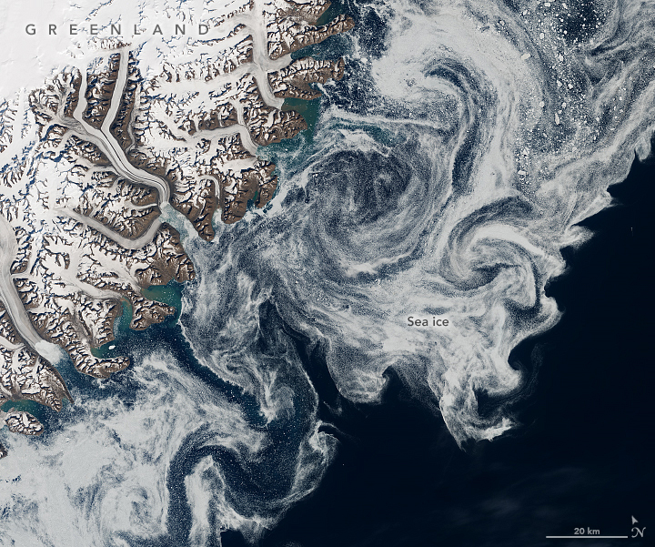 Sea Ice in Denmark Strait - related image preview
