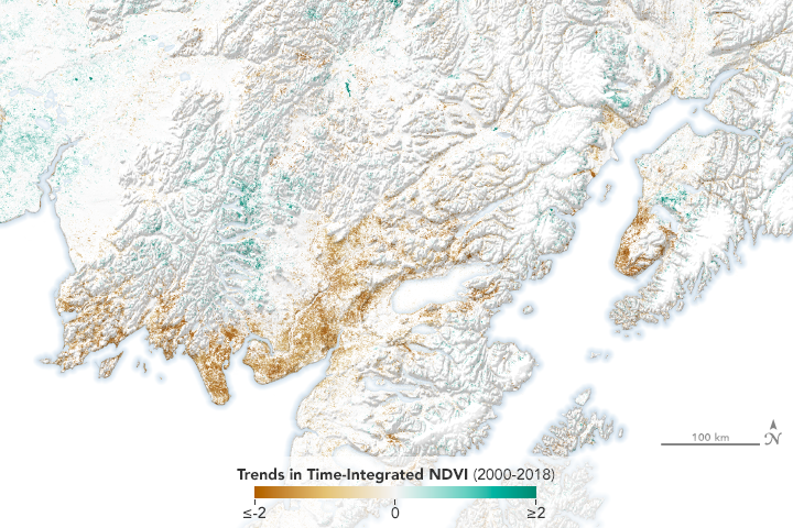 Alaska's Vegetation is Changing Dramatically - related image preview