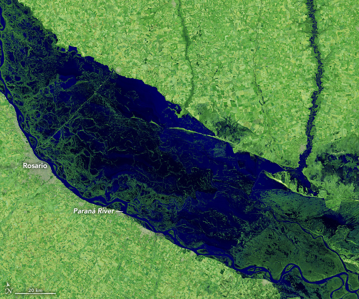 The Parched Paraná River - related image preview
