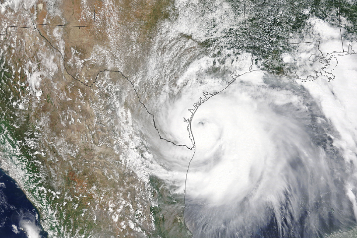 Hurricane Hanna Makes Landfall - selected image