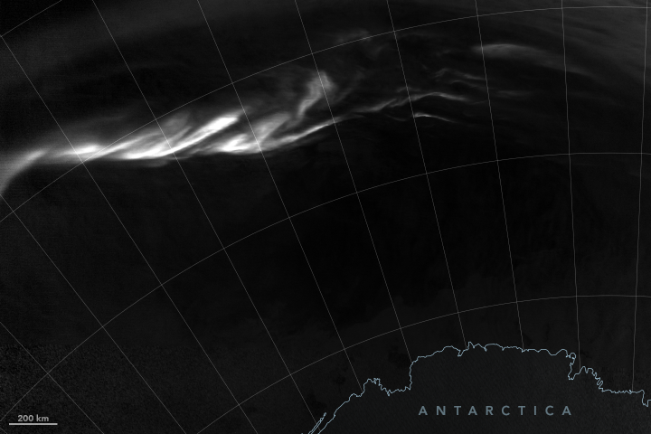 Winter Light for Antarctica
