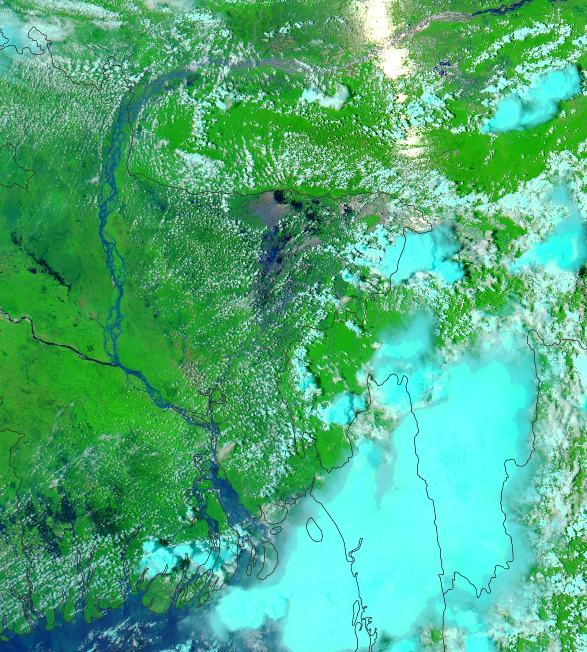 Intense Flooding in Bangladesh - related image preview