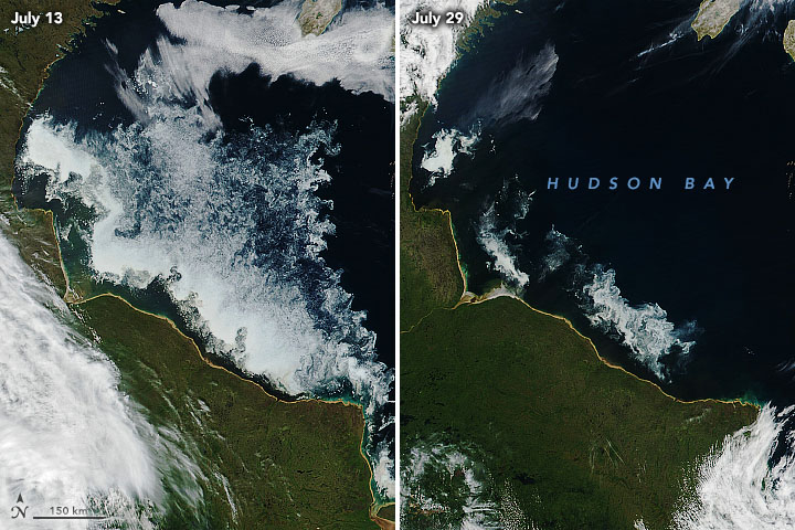 Hunting for Ice on Hudson Bay