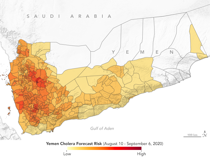 Predicting Cholera Risk in Yemen - related image preview