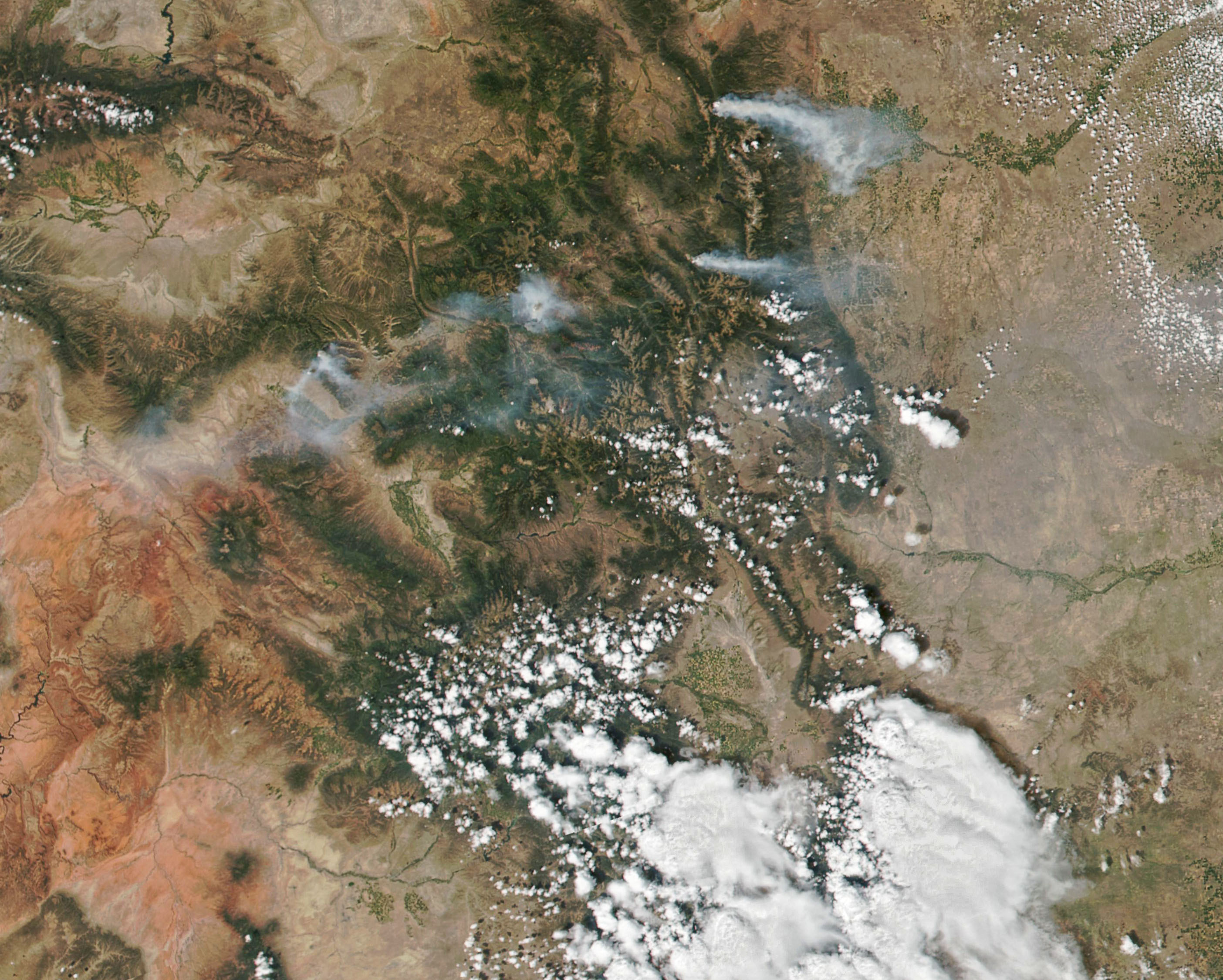 Four Fires in Colorado - related image preview
