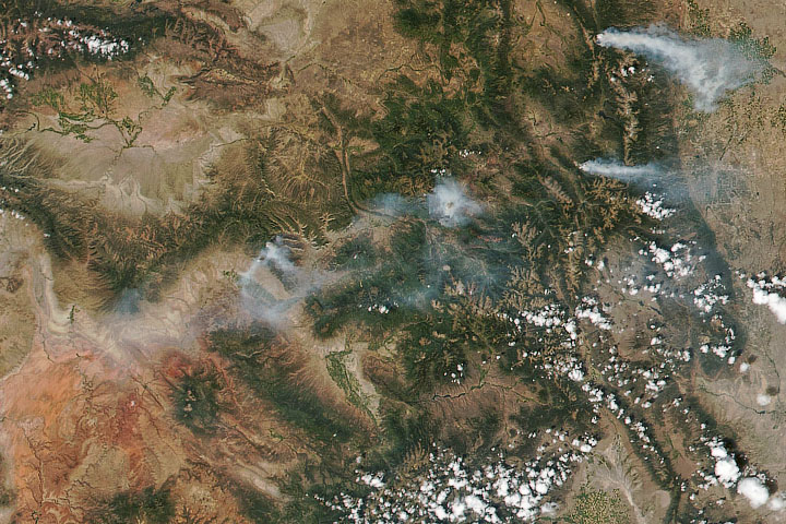 Four Fires in Colorado
