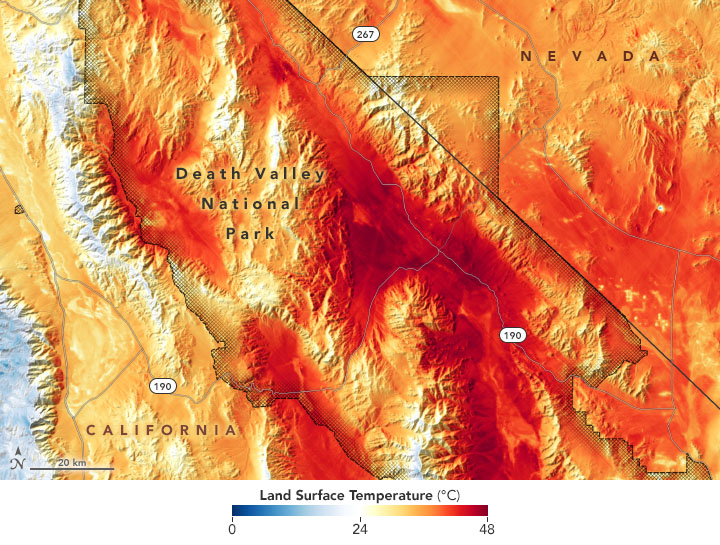 Extreme Heat in Death Valley - related image preview