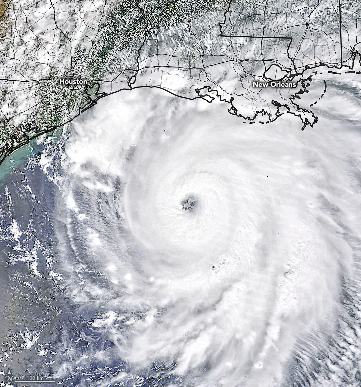 A Dangerous Storm Nears the Gulf Coast