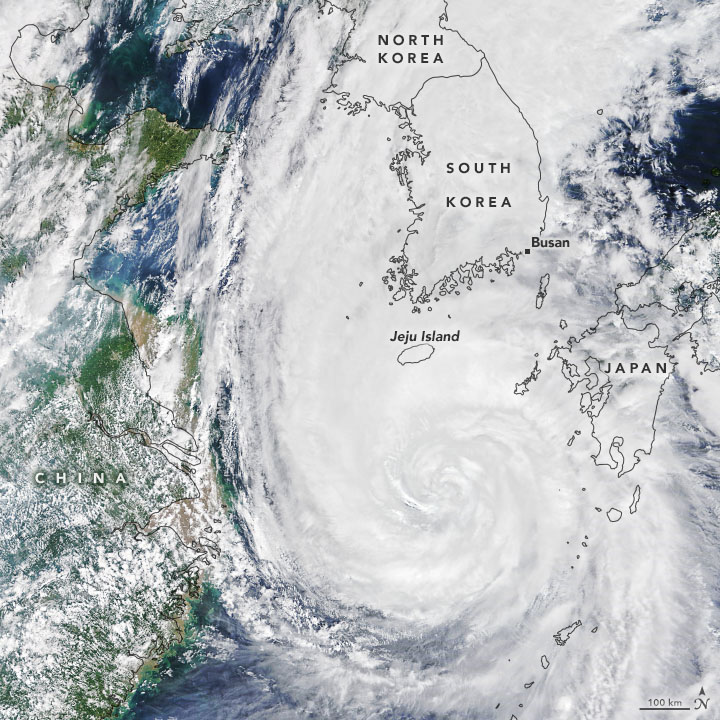 Typhoon Maysak Batters South Korea - related image preview