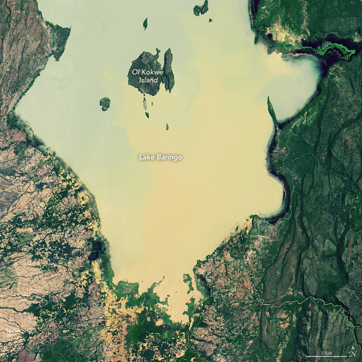 Rising Waters on Kenya's Great Rift Valley Lakes