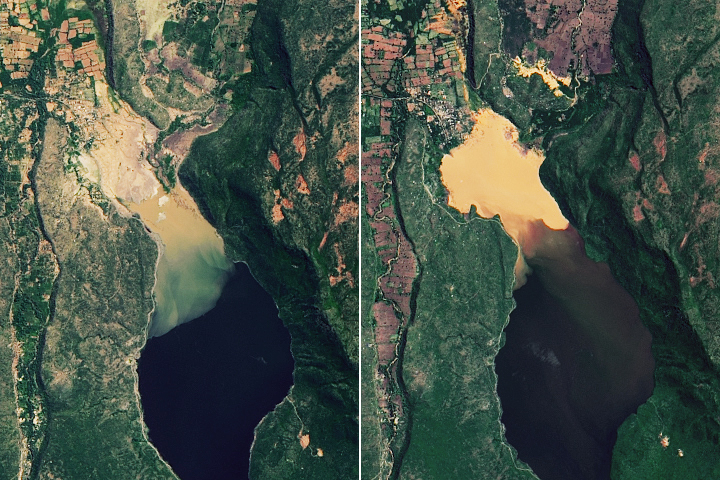 Rising Waters on Kenya's Great Rift Valley Lakes - selected image