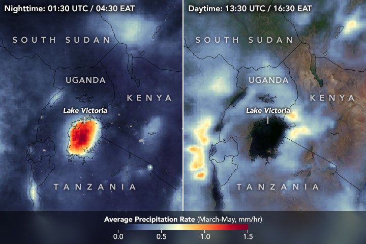 Watching Thunderstorms March Across Lake Victoria - related image preview