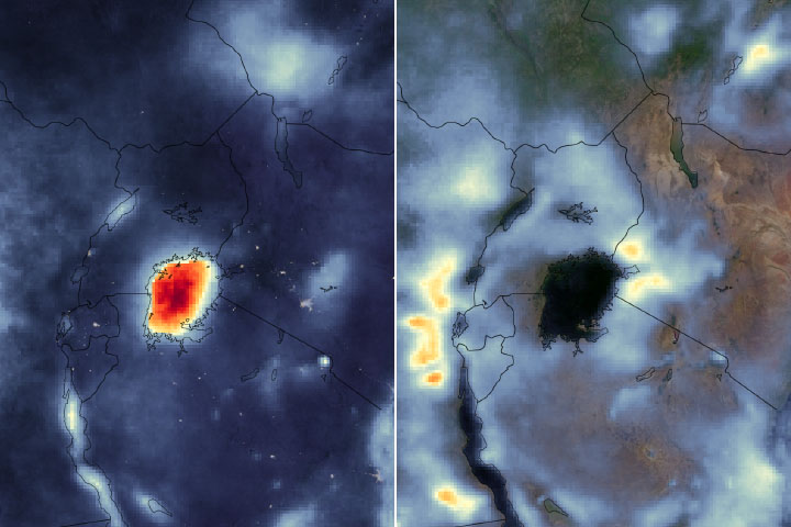 Watching Thunderstorms March Across Lake Victoria - selected image