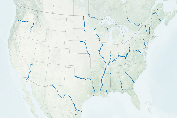 How Rivers Shape States