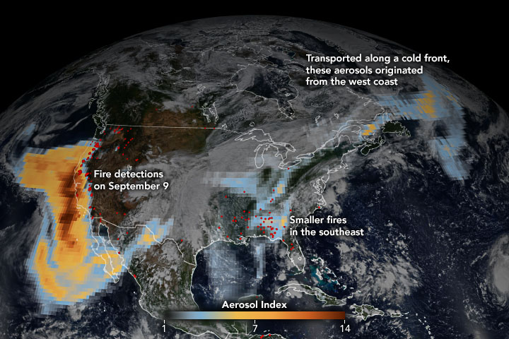 Historic Fires Devastate the U.S. Pacific Coast